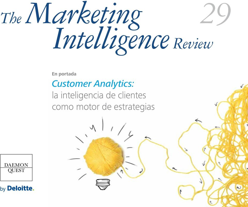 Analytics: la inteligencia de