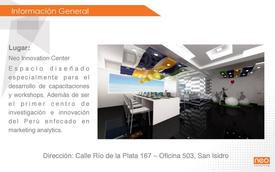 desarrollo de capacitaciones y workshops.