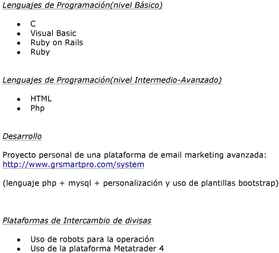 marketing avanzada: http://www.grsmartpro.