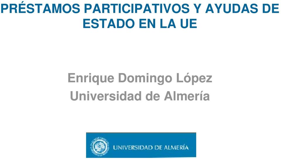 UE Enrique Domingo López