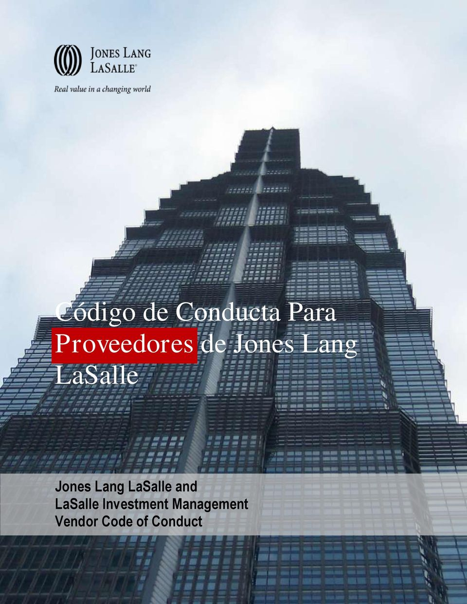 Jones Lang LaSalle and LaSalle