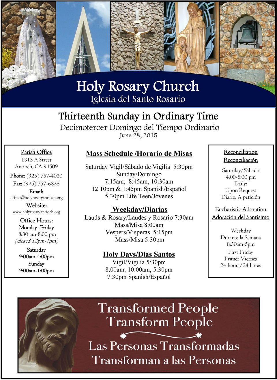 org Website: www.holyrosaryantioch.