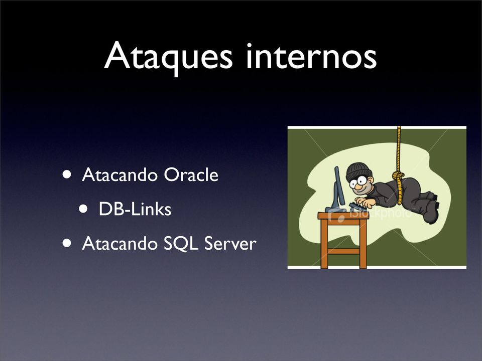 Atacando Oracle