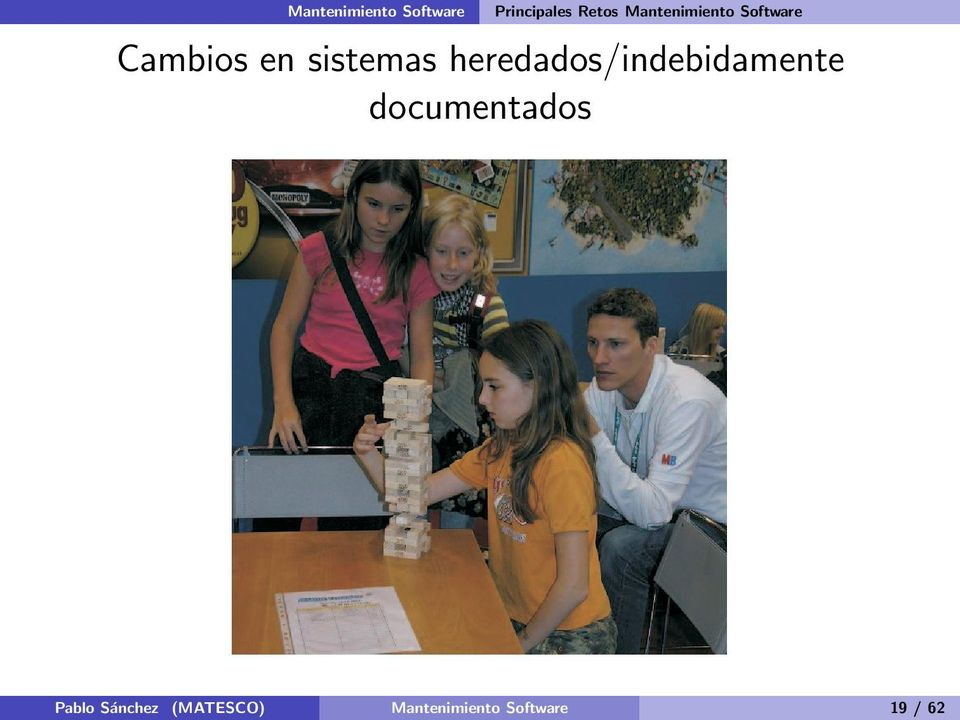 heredados/indebidamente documentados Pablo
