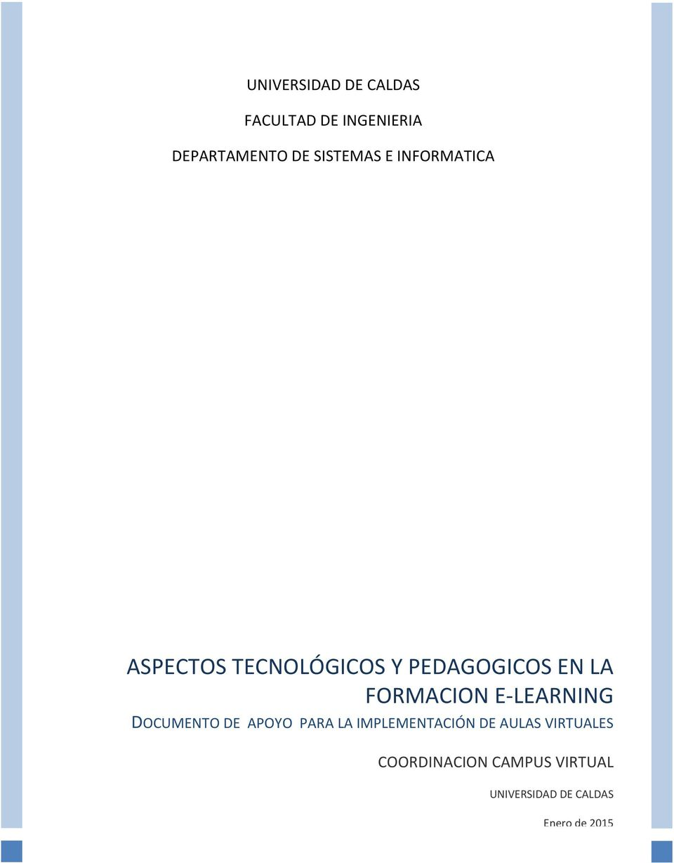 FORMACION E-LEARNING DOCUMENTO DE APOYO PARA LA IMPLEMENTACIÓN DE