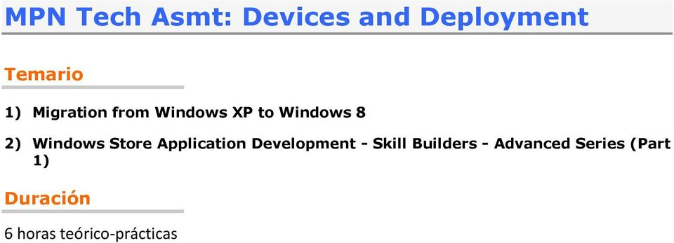 Store Application Development - Skill Builders -