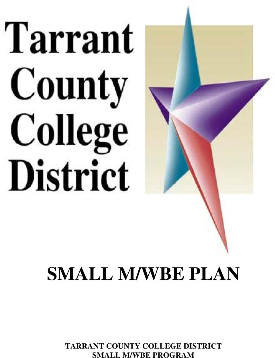COLLEGE DISTRICT