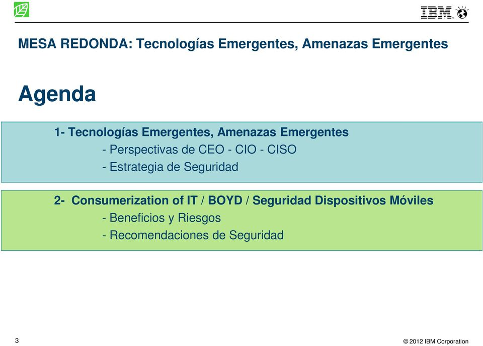 CISO - Estrategia de Seguridad 2- Consumerization of IT / BOYD /
