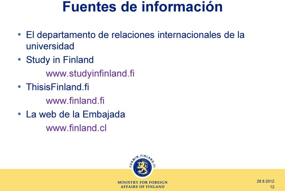 Study in Finland www.studyinfinland.