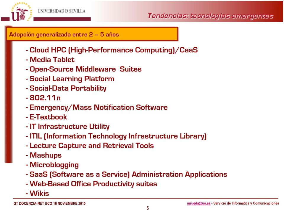 11n - Emergency/Mass Notification Software - E-Textbook - IT Infrastructure Utility - ITIL (Information Technology