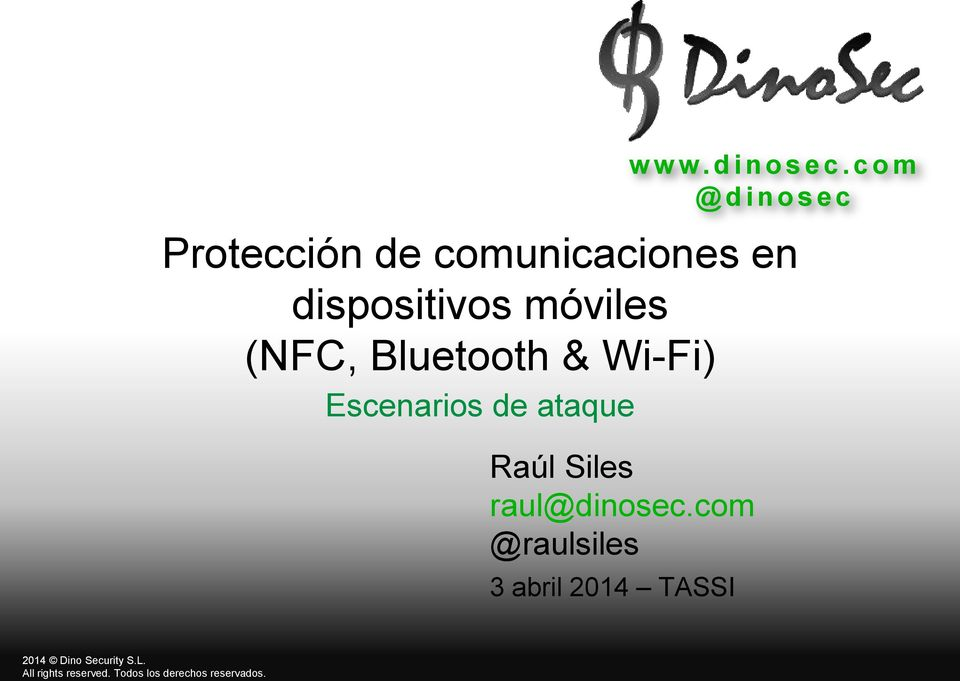 dispositivos móviles (NFC, Bluetooth & Wi-Fi)