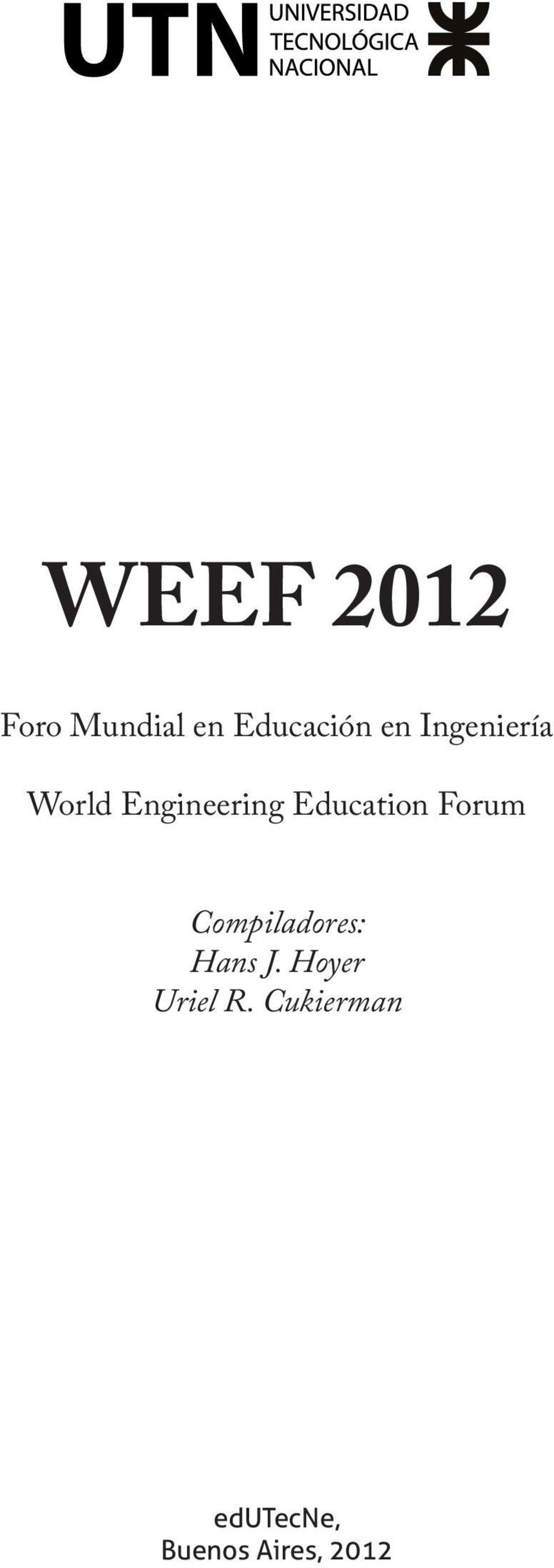 Education Forum Compiladores: Hans J.