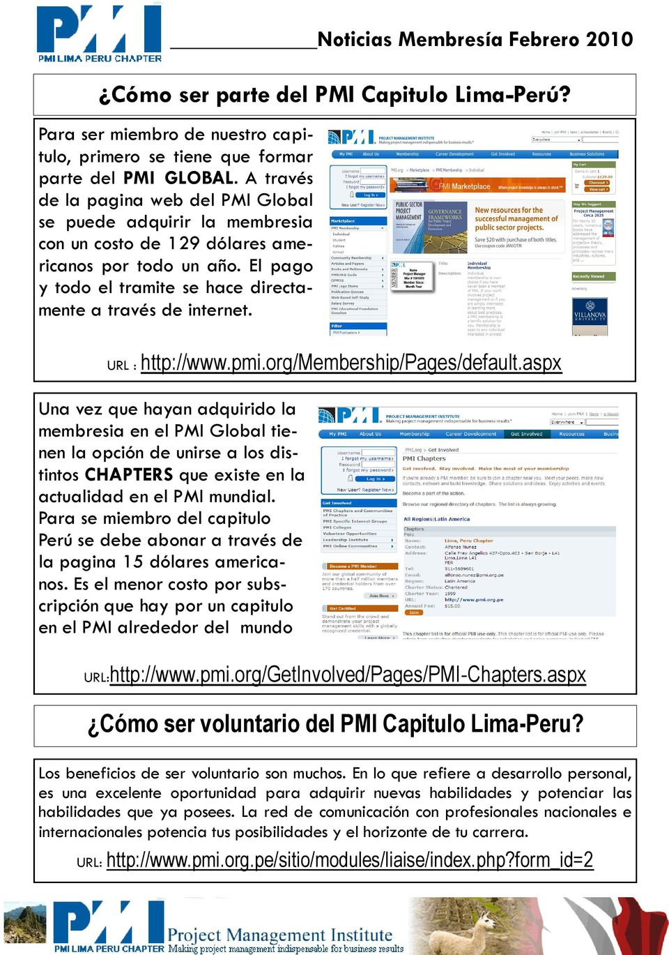 URL : http://www.pmi.org/membership/pages/default.