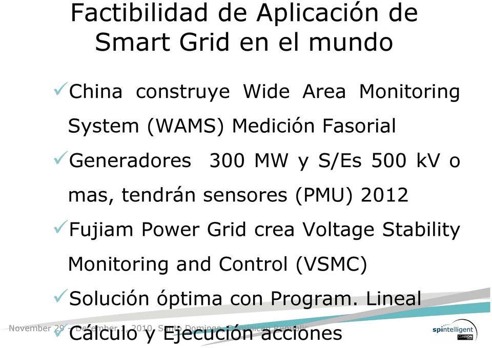 mas, tendrán sensores (PMU) 2012 Fujiam Power Grid crea Voltage Stability
