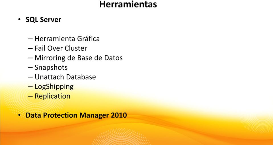 Base de Datos Snapshots Unattach Database