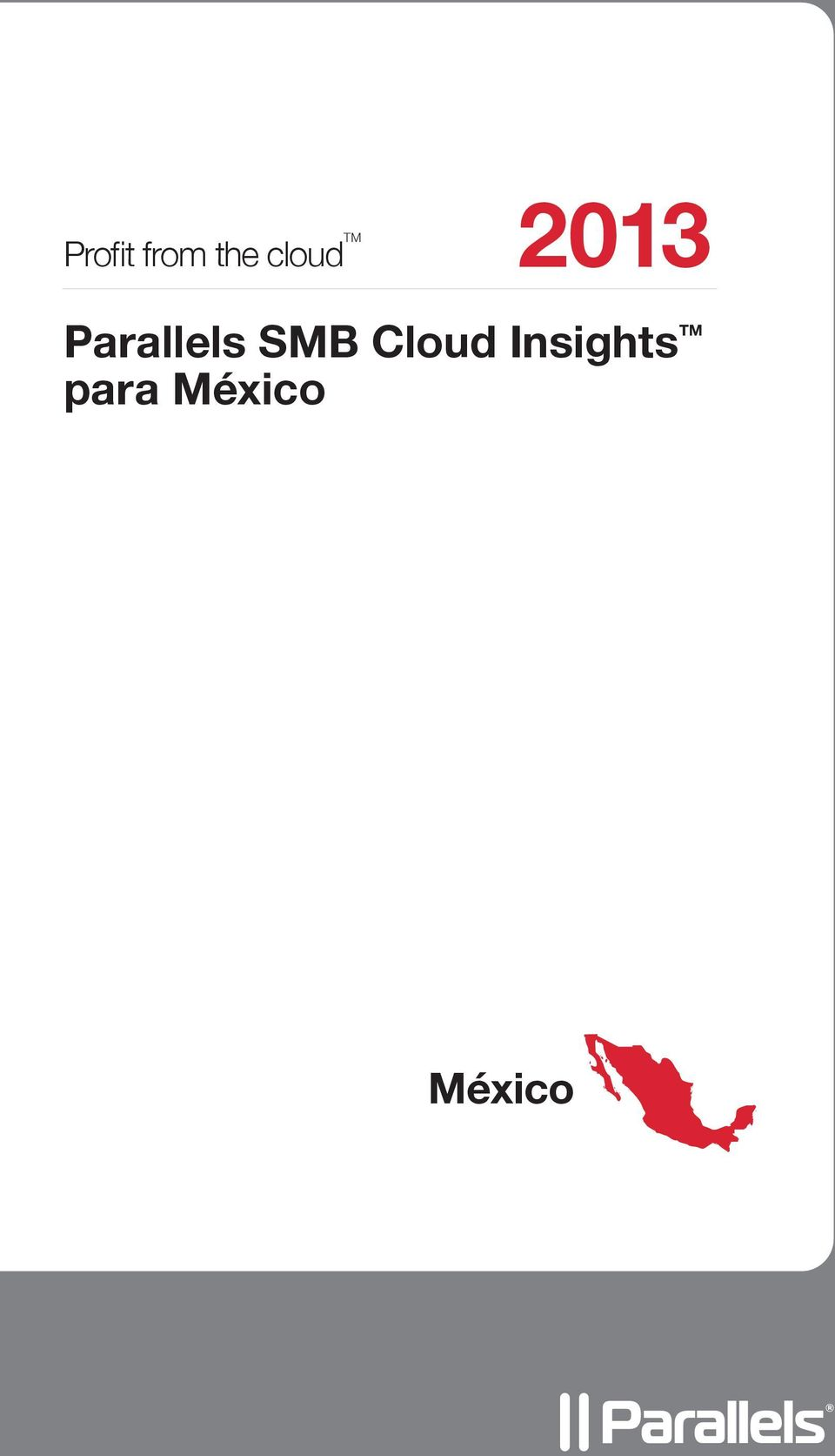 Parallels SMB Cloud