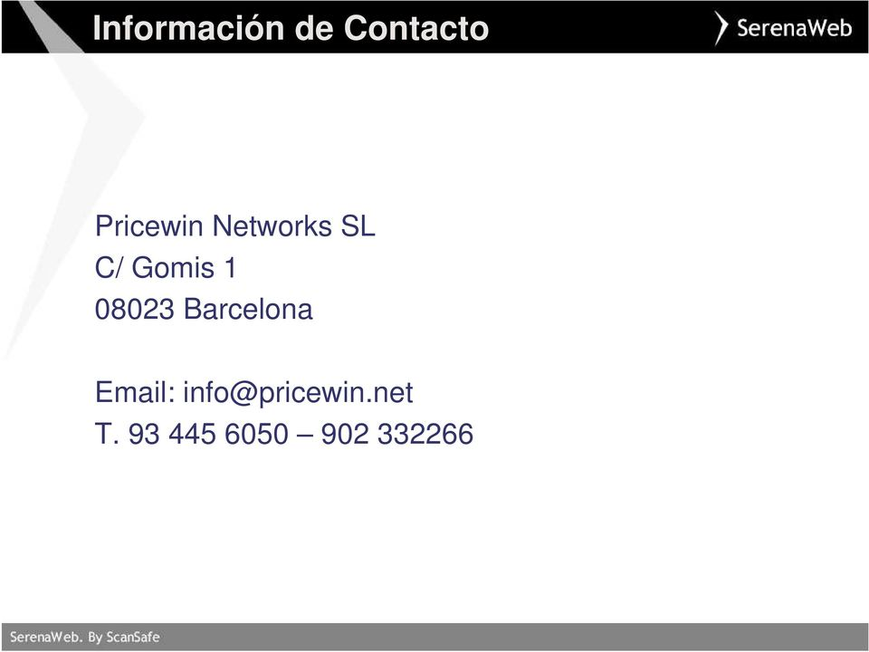 1 08023 Barcelona Email:
