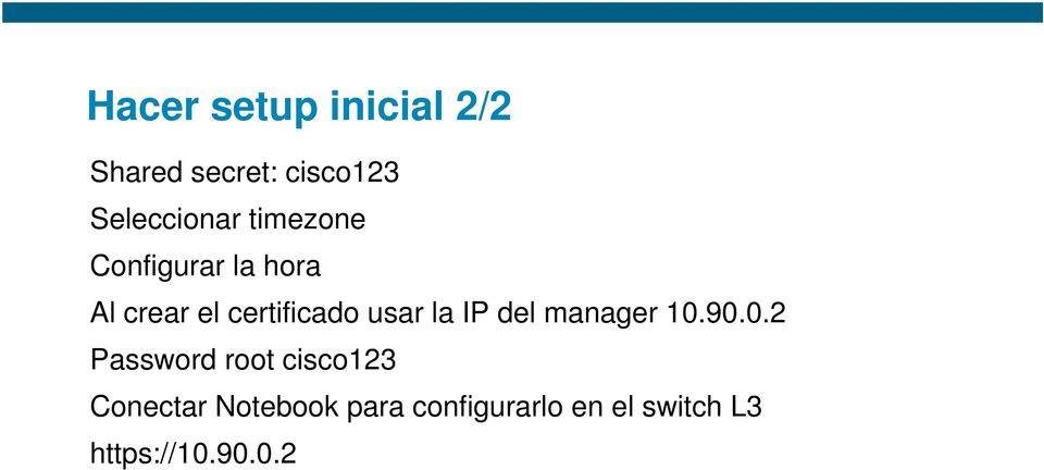 IP del manager 10.