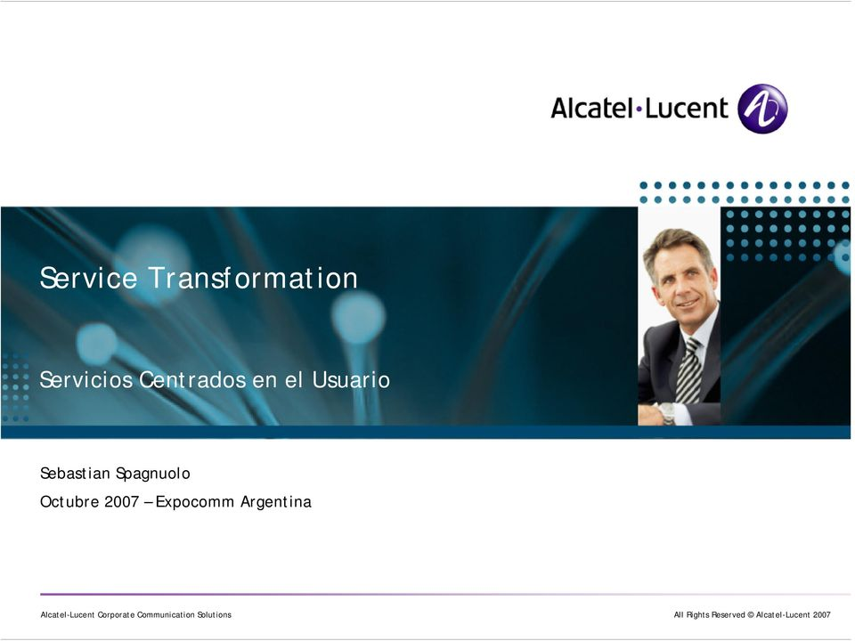 Argentina Alcatel-Lucent Corporate Communication