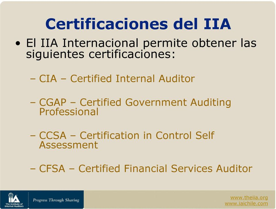 Certified Government Auditing Professional CCSA Certification in