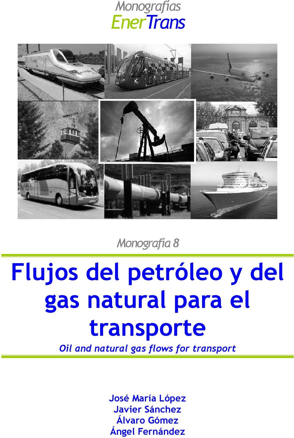Oil and natural gas flows for transport José