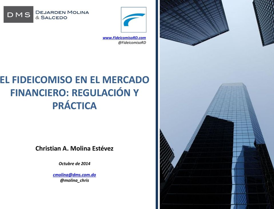 MERCADO FINANCIERO: REGULACIÓN Y PRÁCTICA