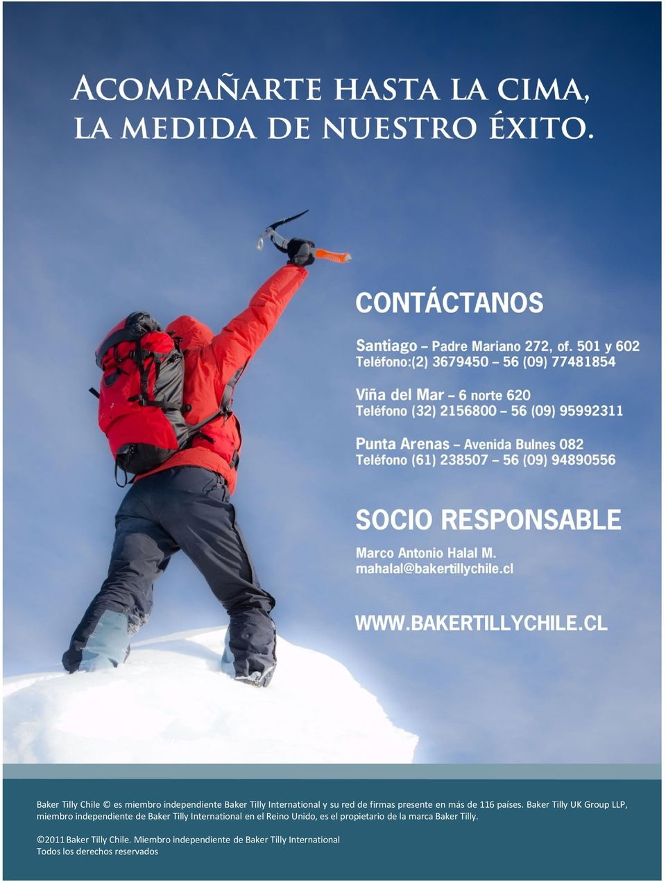 Baker Tilly UK Group LLP, miembro independiente de Baker Tilly International en el Reino