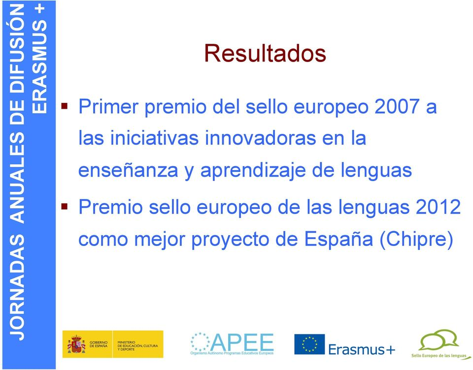 aprendizaje de lenguas Premio sello europeo de