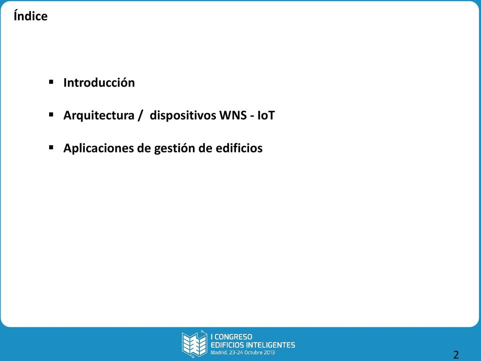 dispositivos WNS - IoT