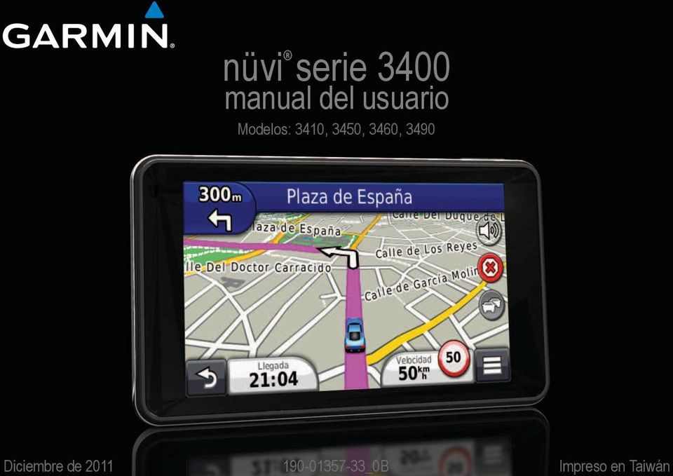 Taiwán nüvi serie 3400 manual