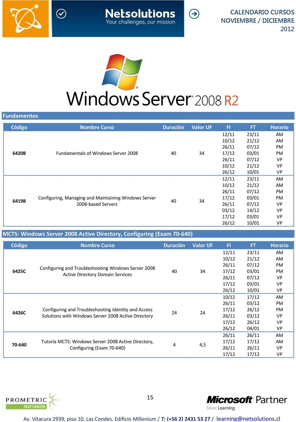 Windows Server 2008 40 34 Active Directory Domain Services 6426C 70-640 Configuring and Troubleshooting Identity and Access