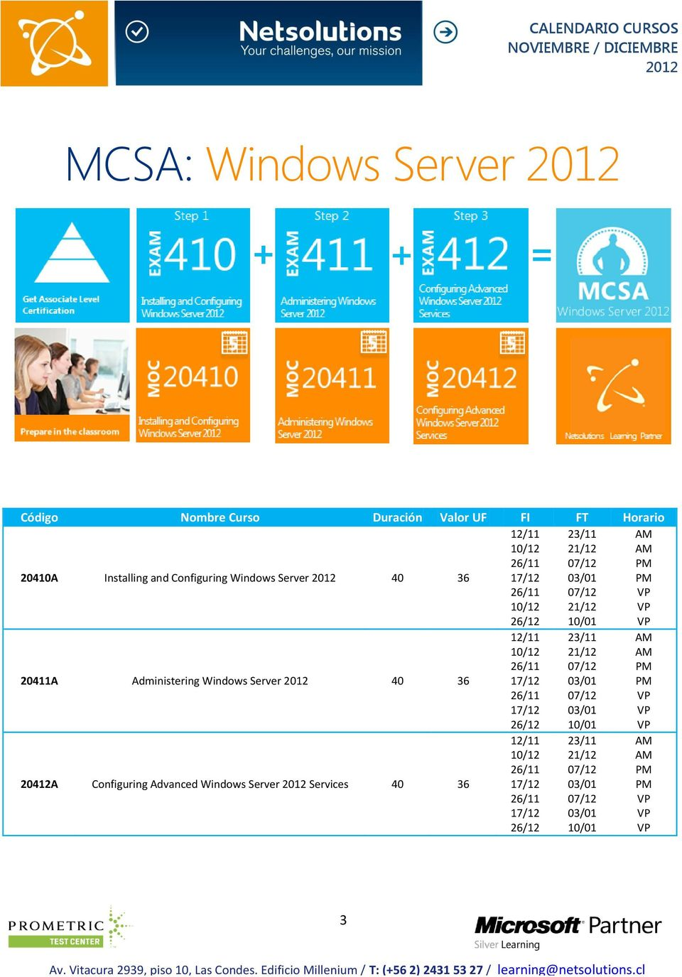 Administering Windows Server 40 36 20412A
