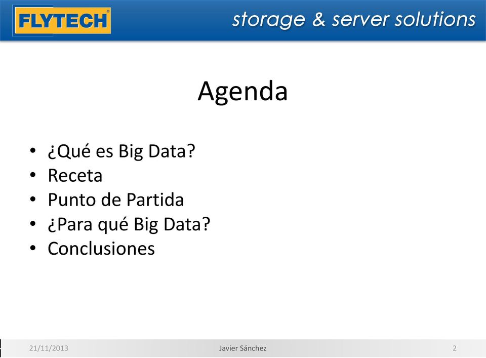 Para qué Big Data?