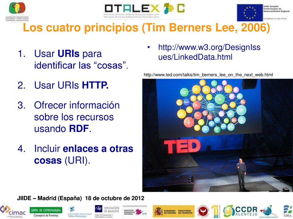 org/designiss ues/linkeddata.html http://www.ted.