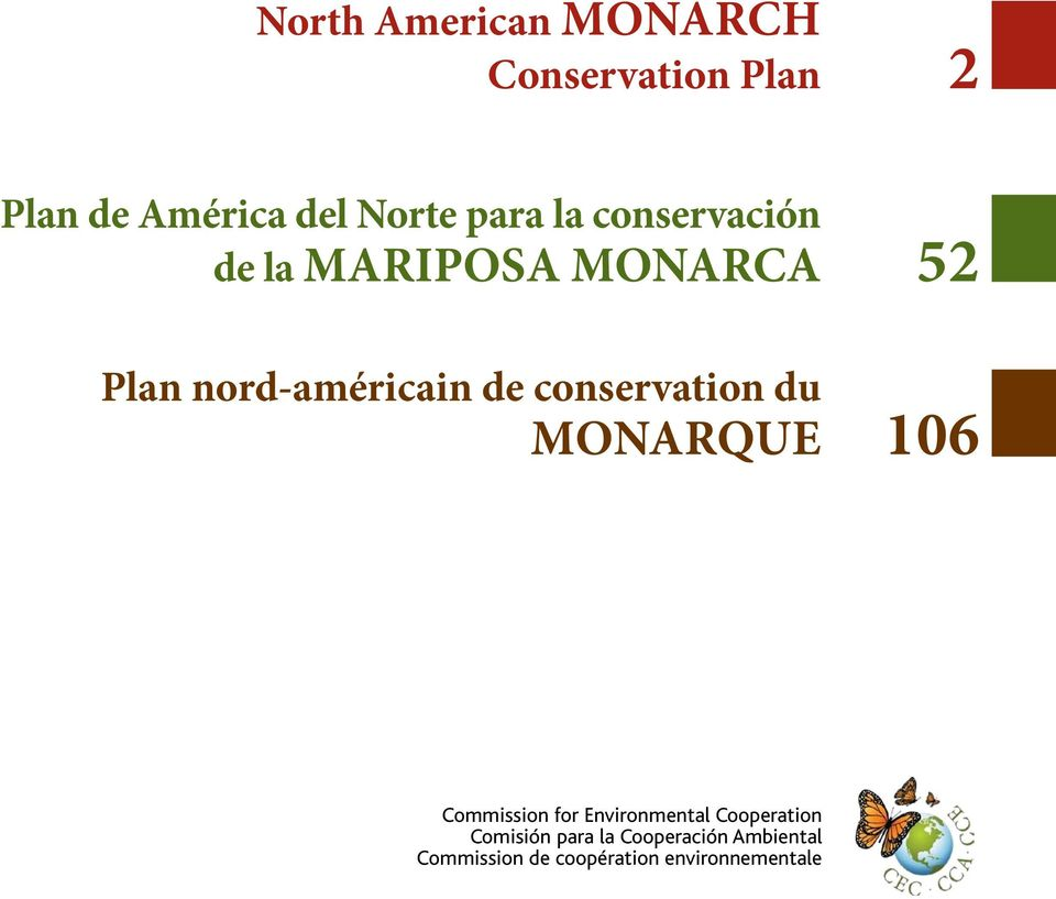 conservation du Monarque 106 Commission for Environmental Cooperation