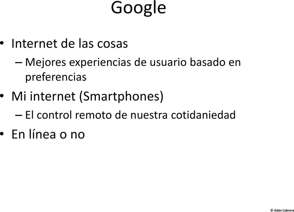 preferencias Mi internet (Smartphones) El