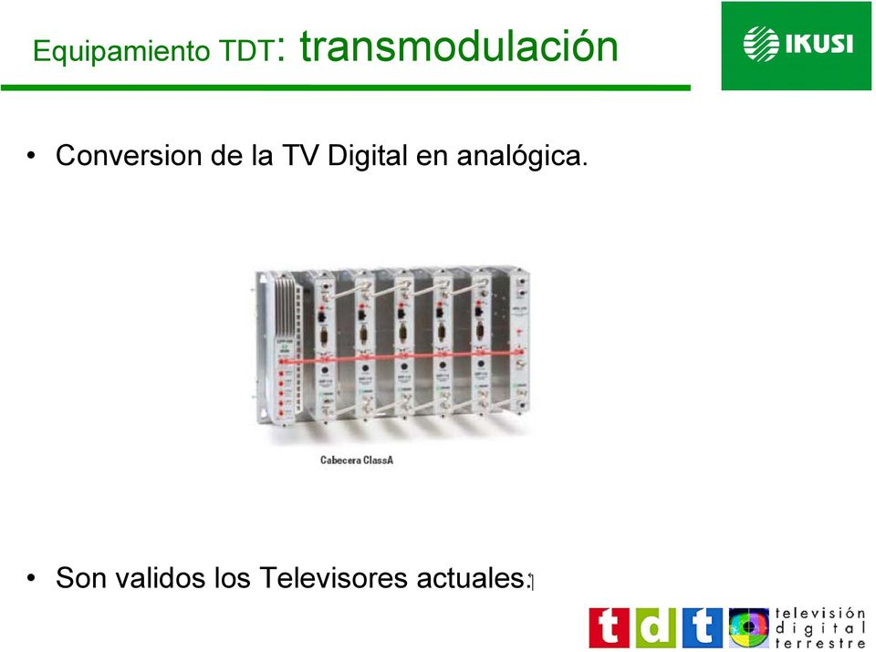 de la TV Digital en