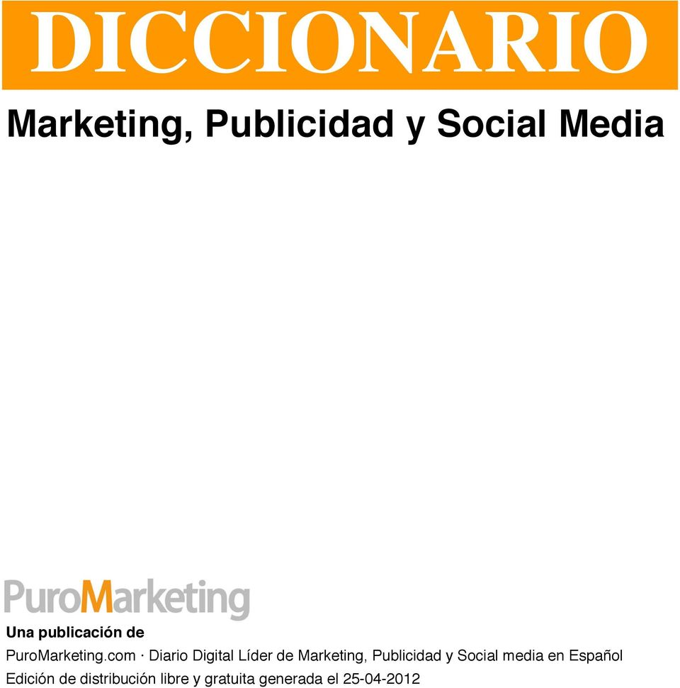 com Diario Digital Líder de Marketing, Publicidad y