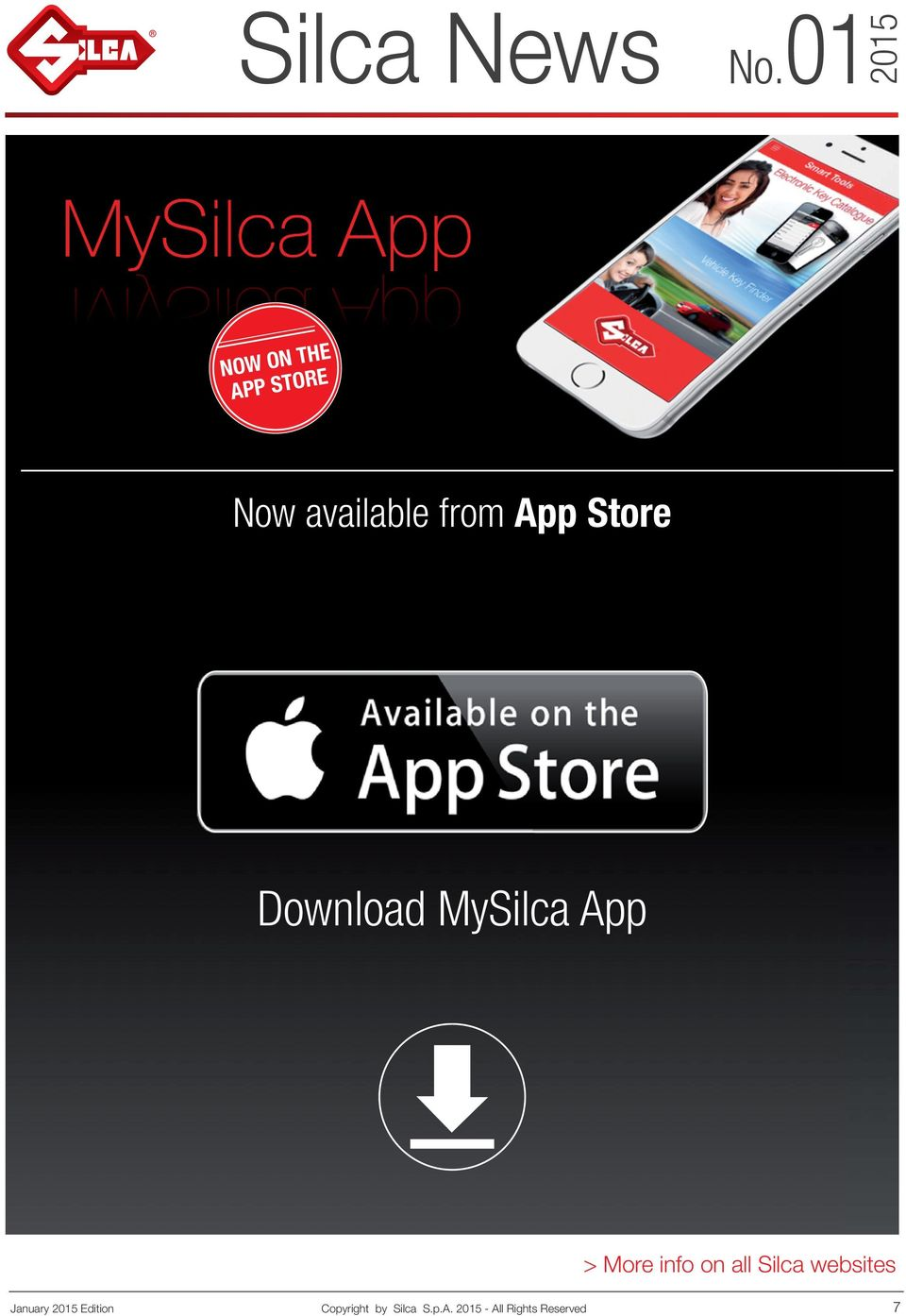 MySilca App January Edition