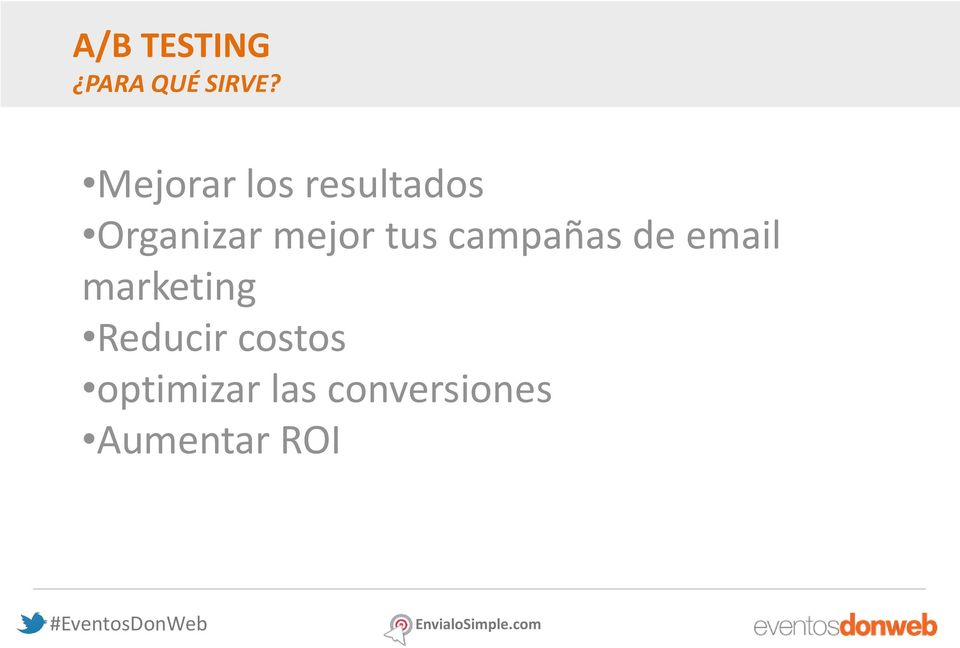 tus campañas de email marketing