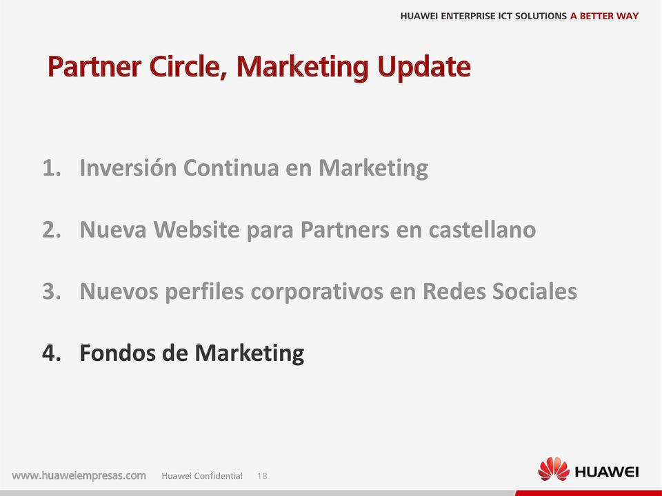 Nueva Website para Partners en castellano 3.