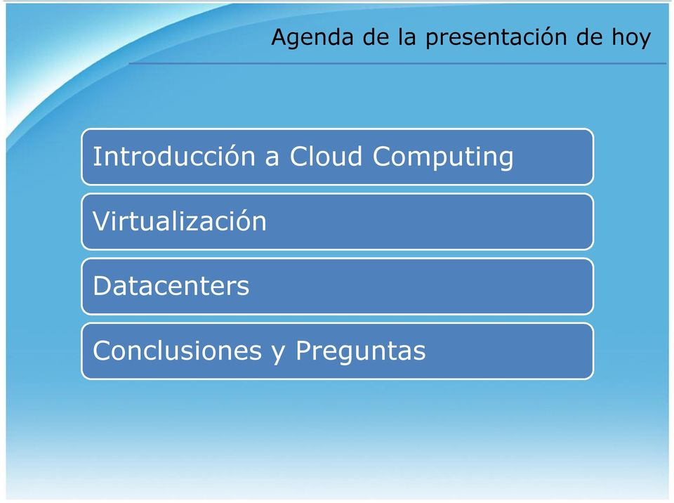 Computing Virtualización