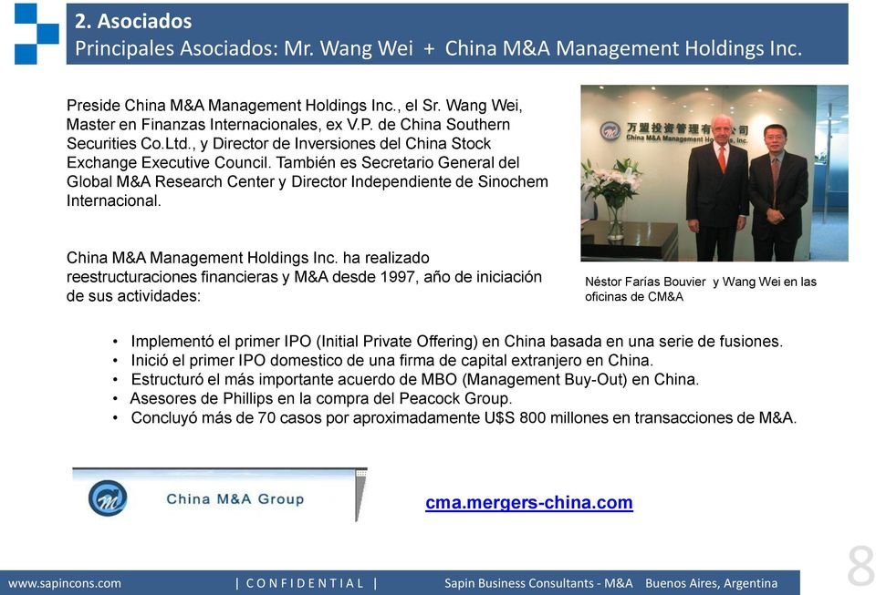 China M&A Management Holdings Inc.