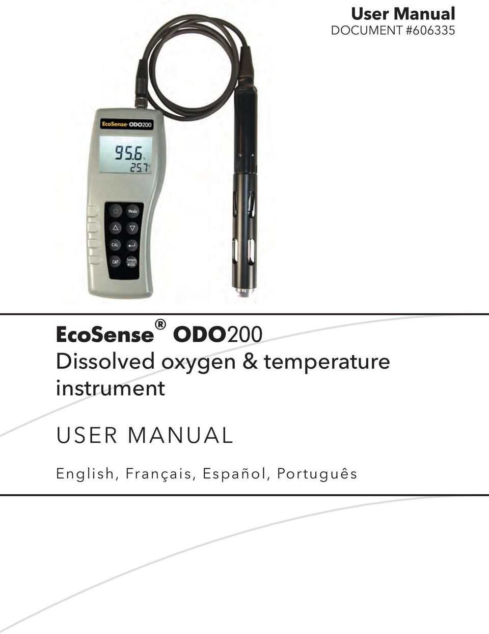 & temperature instrument USER
