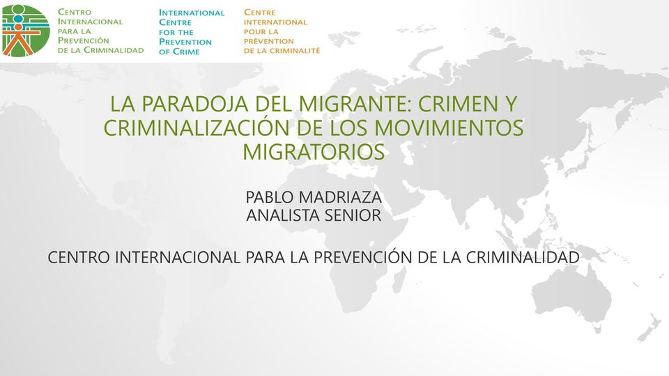 MIGRATORIOS PABLO MADRIAZA ANALISTA SENIOR