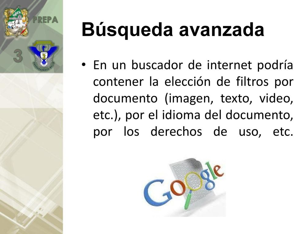 documento (imagen, texto, video, etc.