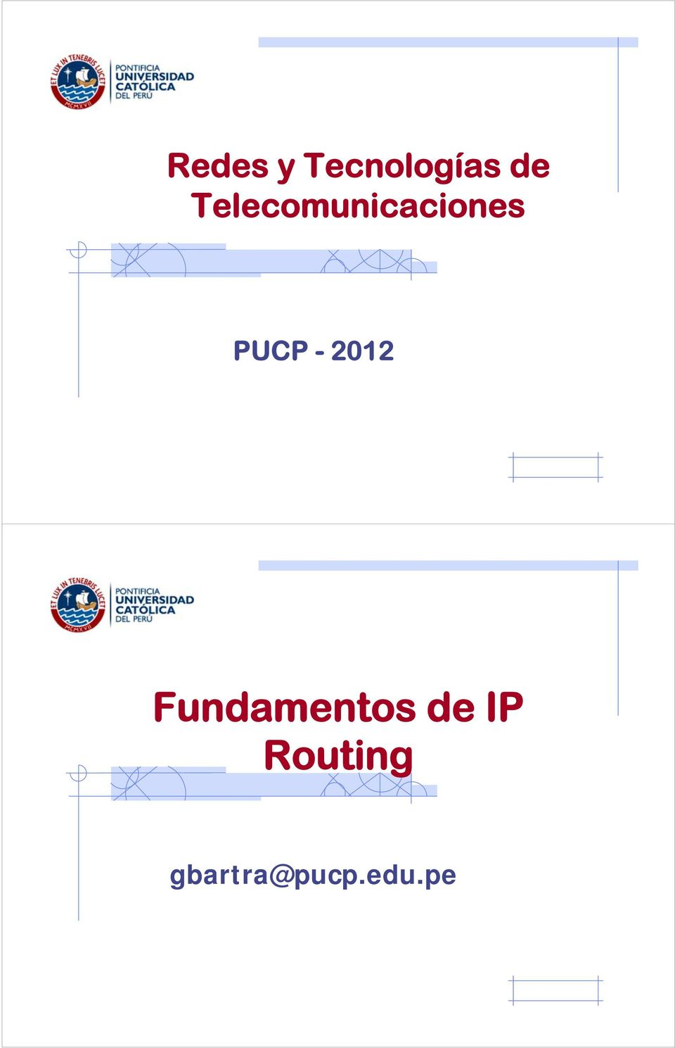 - 2012 Fundamentos de IP