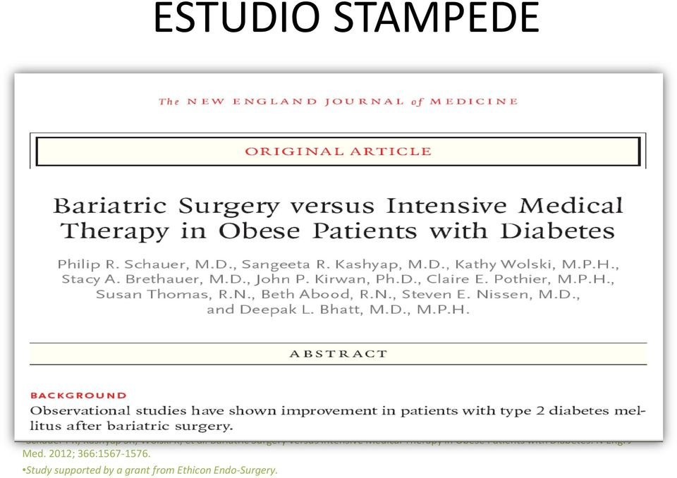 Obese Patients with Diabetes. N Engl J Med.