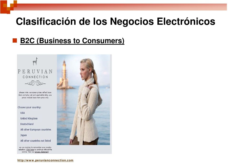 (Business to Consumers)