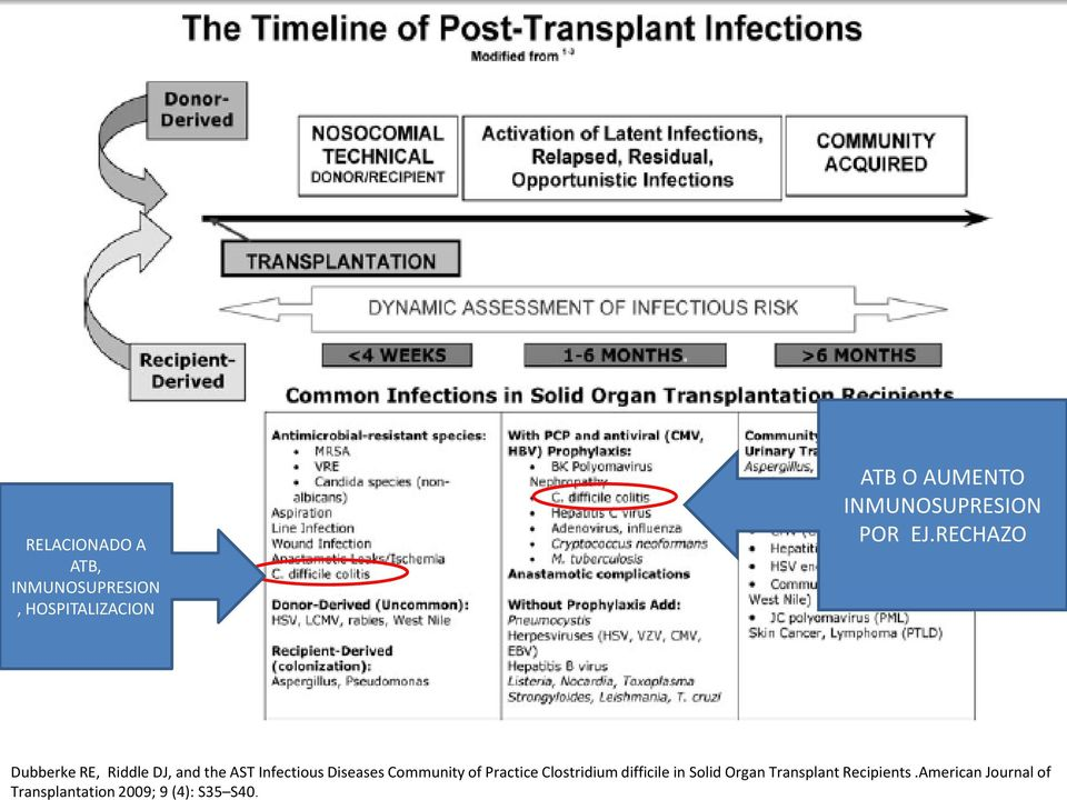 American Journal of Transplantation 2009; 9 (4): S35 S40.